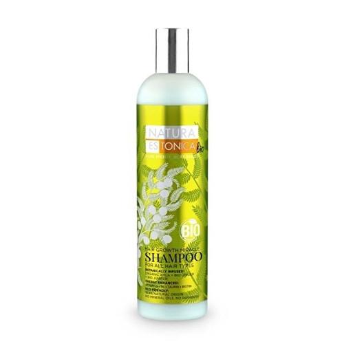 Fotografie Natura Estonica Šampon Podpora růstu vlasů 400 ml