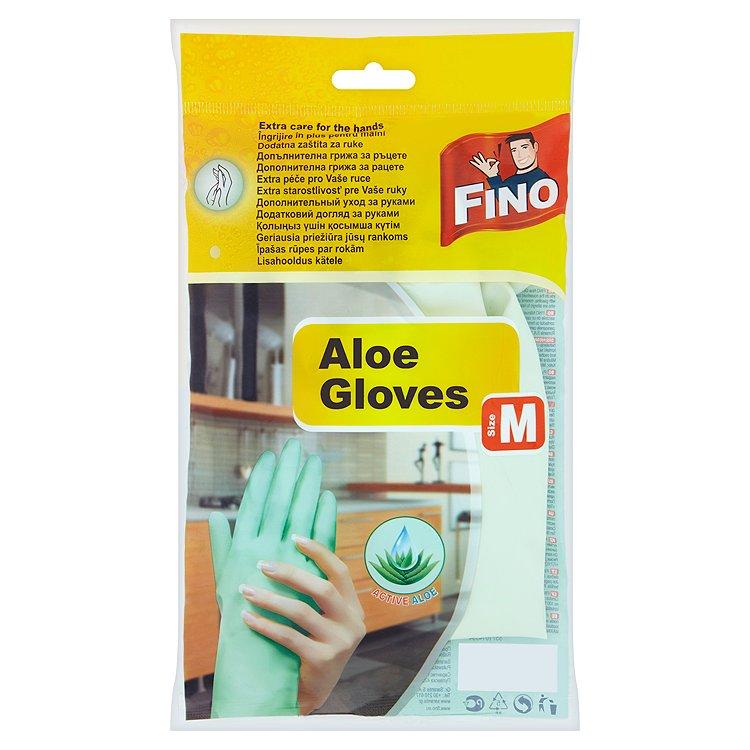 Fotografie Fino rukavice s Aloe vera M 1 pár