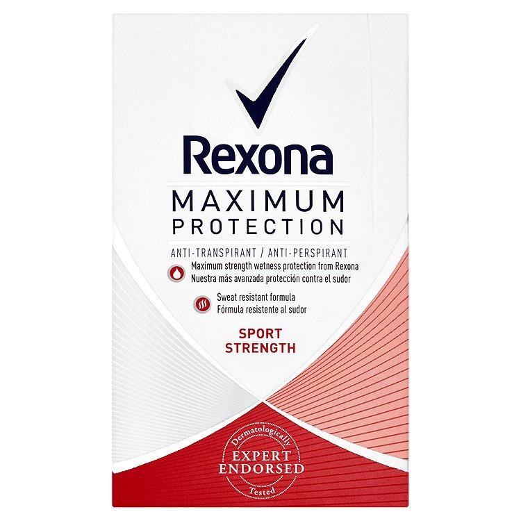 Rexona Maximum Protection Sport Strength antiperspirační krém 45 ml