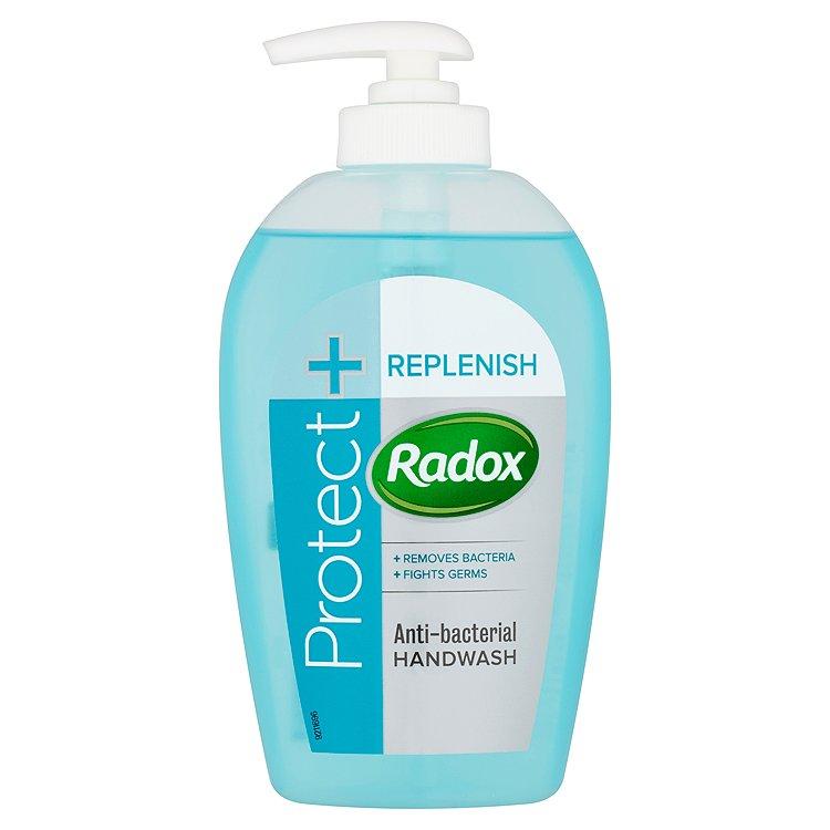 Radox Feel Hygienic & Replenishing tekuté mýdlo s tymiánem a tea tree 250 ml