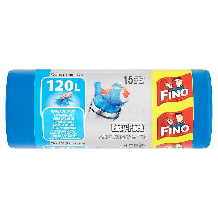 Fotografie Fino Easy pack odpadkové pytle, 120 l 15 ks