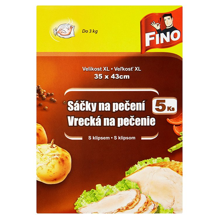 Fotografie Fino sáčky na pečení 5 ks