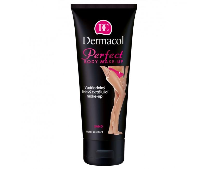 Dermacol voděodolný zkrášlující tělový make-up Pale, 100 ml