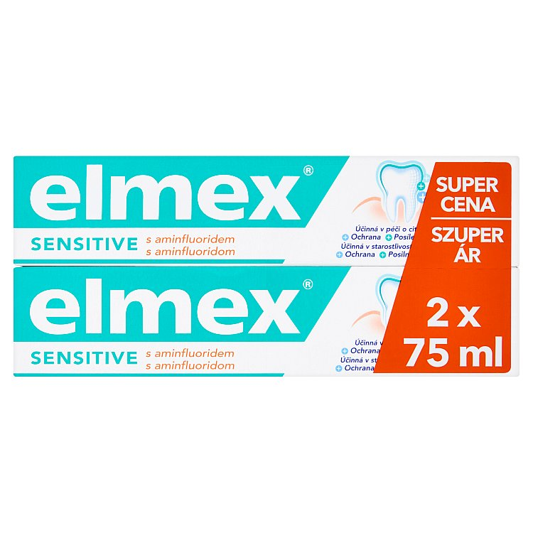 Elmex Sensitive zubní pasta 2 x 75 ml