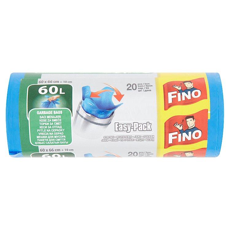 Fino Easy pack pytle na odpadky, 60 l 20 ks