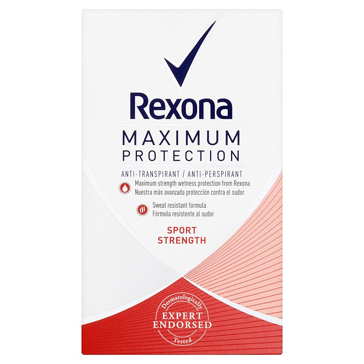 Rexona Maximum Protection Sport Strength antiperspirační krém 45 ml