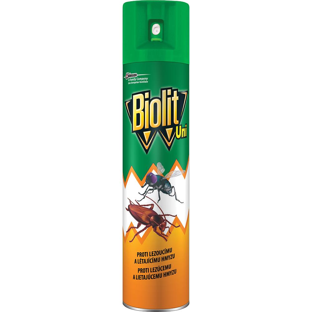 Biolit Uni 007 sprej proti létajícímu i lezoucímu hmyzu 400 ml