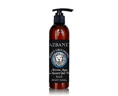 Azbane Arganový přípravek pro mytí vousů, vlasů a obličeje 250 ml