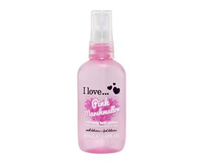 I Love Pink Marshmallow osvěžující tělový sprej s vůní růžového marshmallow 100 ml