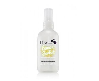 I Love Lemon Sorbet osvěžující tělový sprej s vůní citronového sorbetu 100 ml