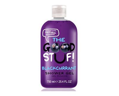 The Goodstuf Blackcurrant hydratační sprchový gel s vůní černého rybízu 750 ml