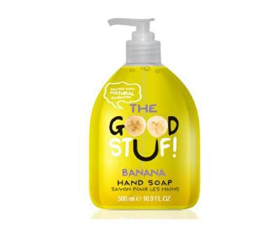 The Goodstuf Banana tekuté mýdlo na ruce s vůní banánu 500 ml