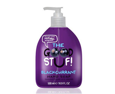 The Goodstuf Black Currant tekuté mýdlo na ruce s vůní černého rybízu 500 ml
