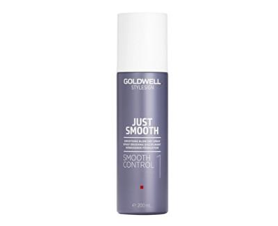 Goldwell Stylesign Just Smooth uhlazující sprej pro urychlení fénování vlasů 200 ml