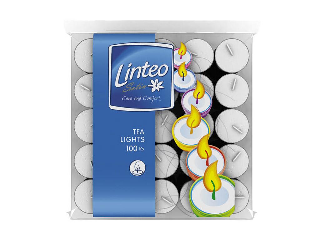 Linteo čajové svíčky 100 ks