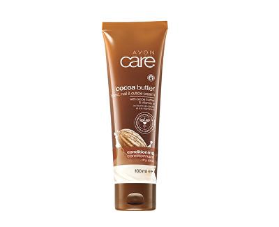 Avon vyživující krém na ruce a nehty s kakaovým máslem a vitaminem E Care 100 ml