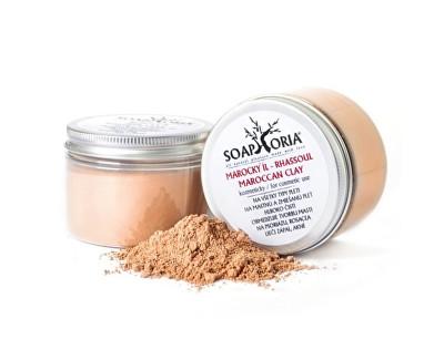 Přírodní kosmetický marocký jíl (Maroccan Clay For Cosmetic Use) 150 g