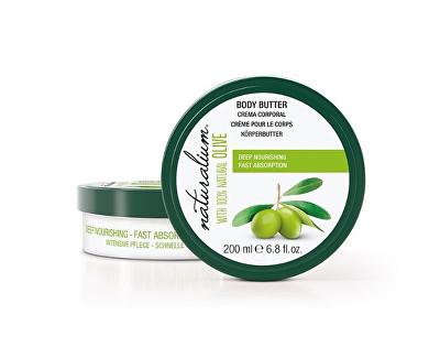 Naturalium Body Butter vyživující tělové máslo s olivovým olejem 200 ml