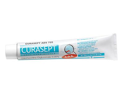 Fotografie Curaprox Curasept ADS 705 zubní gelová pasta 75 ml