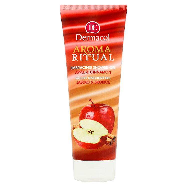 Dermacol Aroma Ritual hřejivý sprchový gel jablko a skořice 250 ml