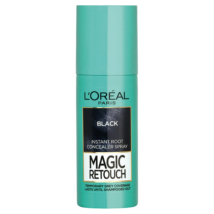 L'Oréal Paris Magic Retouch sprej pro okamžité zakrytí odrostů černá, 75 ml
