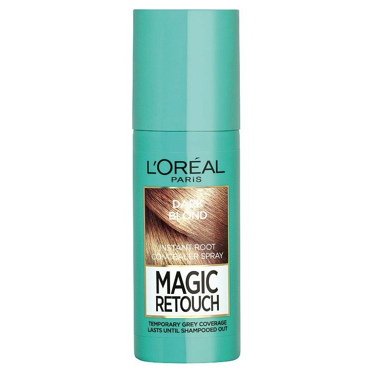 L'Oréal Paris Magic Retouch Sprej pro okamžité zakrytí odrostů tmavá blond 75ml