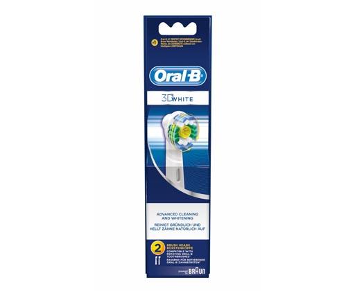 Oral B 3D White náhrady na elektrický zubní kartáček 2 ks