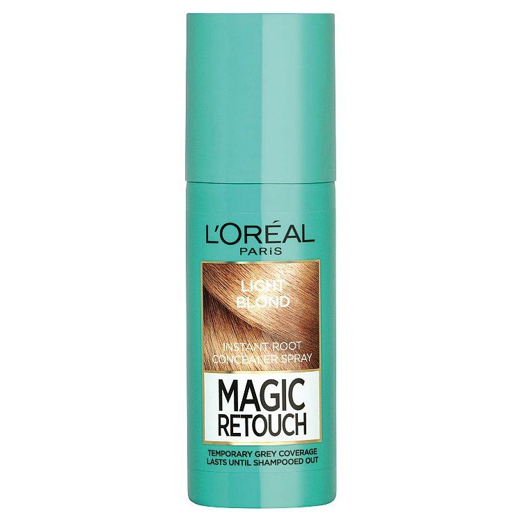 L'Oréal Paris Magic Retouch sprej pro okamžité zakrytí odrostů Světlá blond, 75 ml
