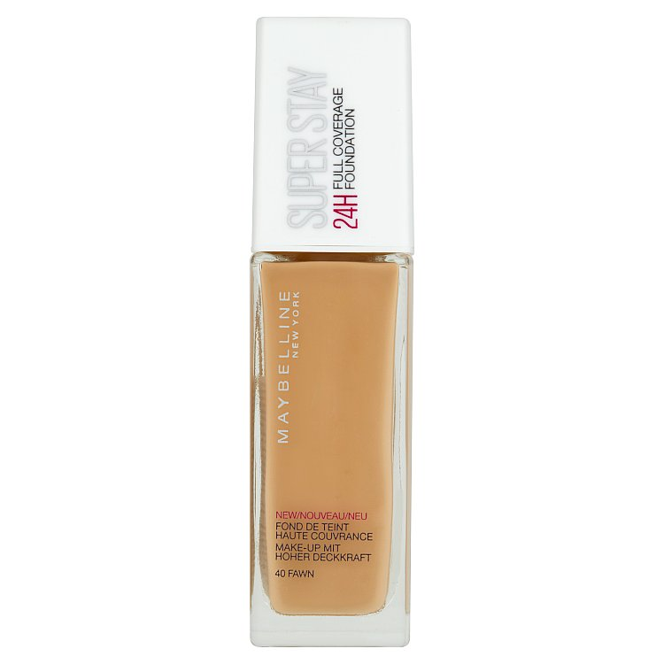 Maybelline Superstay Foundation 24 Hour krycí make-up 040 Fawn, 30 ml