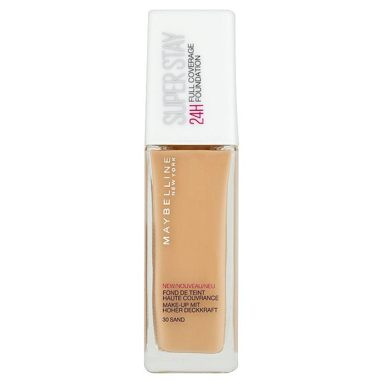 Maybelline Superstay Foundation 24 Hour krycí make-up 30 Sand, 30 ml