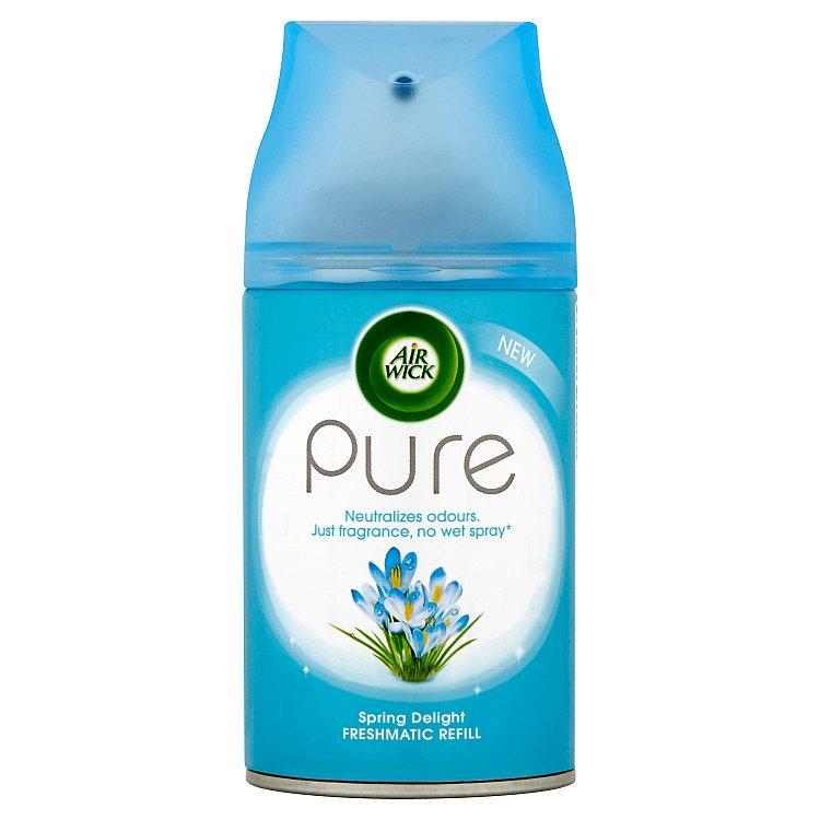 Fotografie Air Wick FreshMatic Pure Svěží vánek osvěžovač vzduchu náhradní náplň 250 ml
