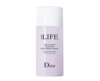 Čistící pudr s peelingovým účinkem Hydra Life (Time To Glow - Ultra Fine Exfoliating Powder) 40 g