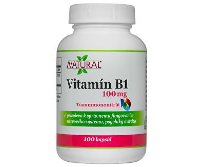 Vitamín B1 100mg 100 kapslí