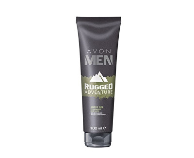 Gel na holení s aloe vera Rugged Adventure Men (Shave Gel) 100 ml