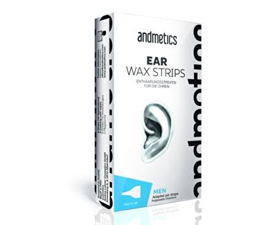 Depilační voskové pásky na uši pro muže (Ear Wax Strips For Men)