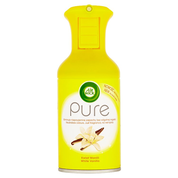 Air Wick Pure osvěžovač vzduchu bílý květ vanilky 250 ml
