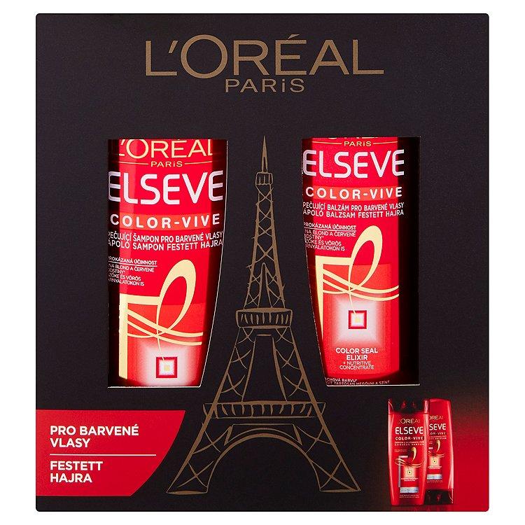 Ľoreal Paris Elseve Color-Vive dárková sada
