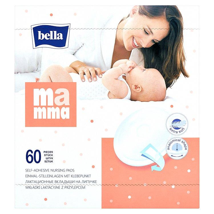 Bella Mamma jednorázové samolepící prsní vložky 60 ks