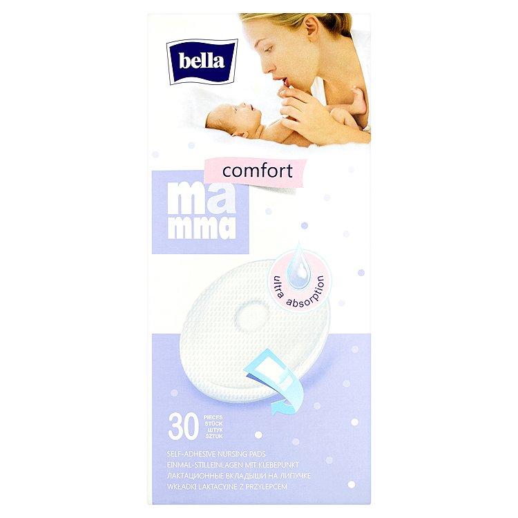 Bella Mamma Comfort jednorázové samolepící prsní vložky 30 ks