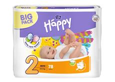Bella Happy plenky Mini BIG PACK 78 ks