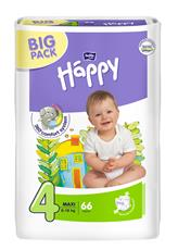 Bella Happy plenky Maxi BIG PACK 66 ks
