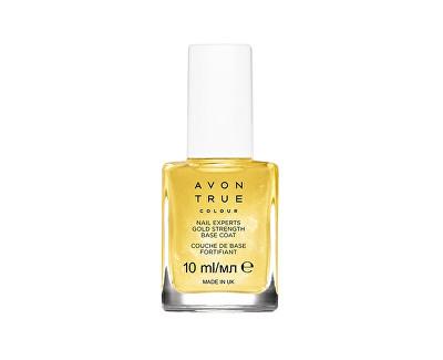 Avon True péče o nehty se zlatými částečkami 10 ml