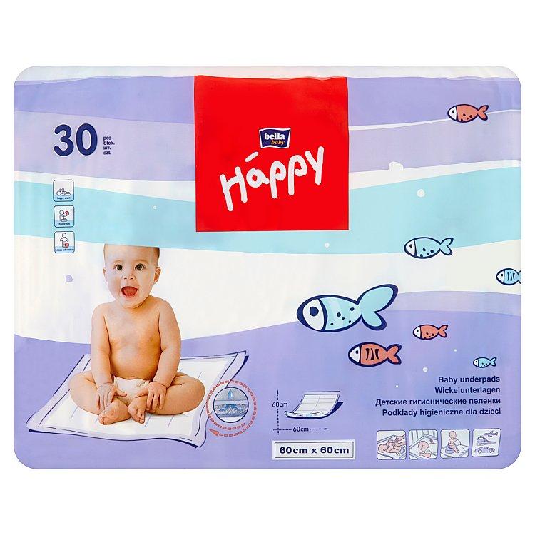 Happy hygienické podložky 60 x 60 cm 30 ks