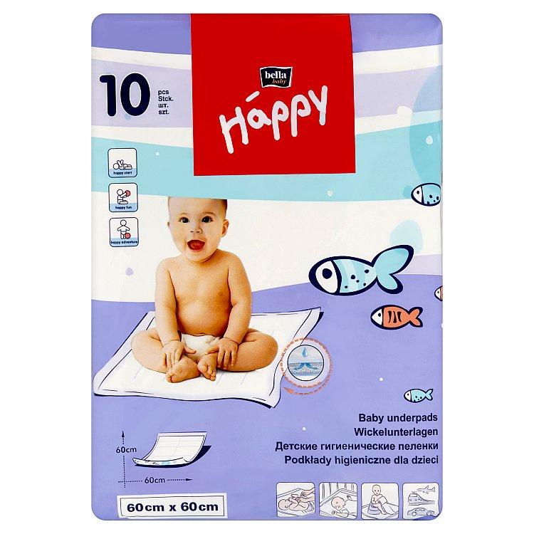 Fotografie HAPPY Baby dětské podložky 60 x 60 cm 10 ks