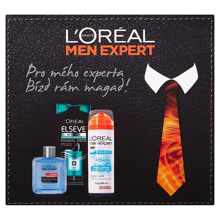Ľoreal Paris Men Expert dárková sada pleťové a vlasové péče