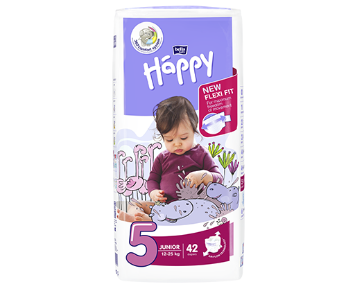 Bella Happy plenky Junior 42 ks