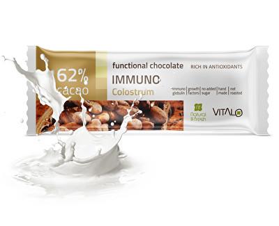 Funkční čokoláda Immuno - Colostrum 25g