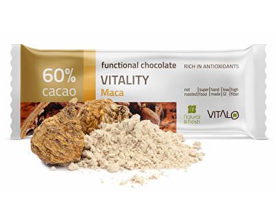 Funkční čokoláda Vitality - Maca 25g
