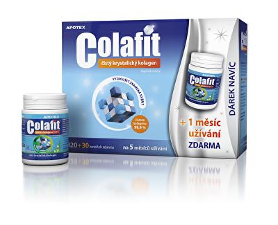 Colafit čistý kolagen 120 kostiček + 30 kostiček ZDARMA