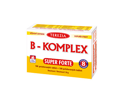 B-komplex Super Forte 100 tablet